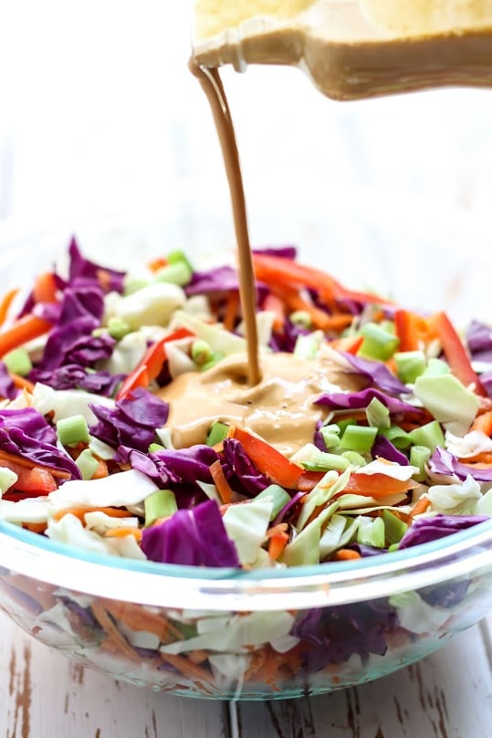 Thai Slaw with Cashew Curry Sauce-5