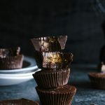 Halloween Candy Cups   Make your own 3-ingredient chocolate cups and fill 'em with leftover Halloween candy!   thealmondeater.com