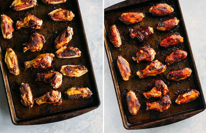 Barbecue Chipotle Wings | thealmondeater.com