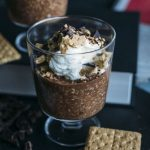 HEALTHY s'mores overnight oats made with cacao, yogurt and graham crackers--ready in 5 minutes!