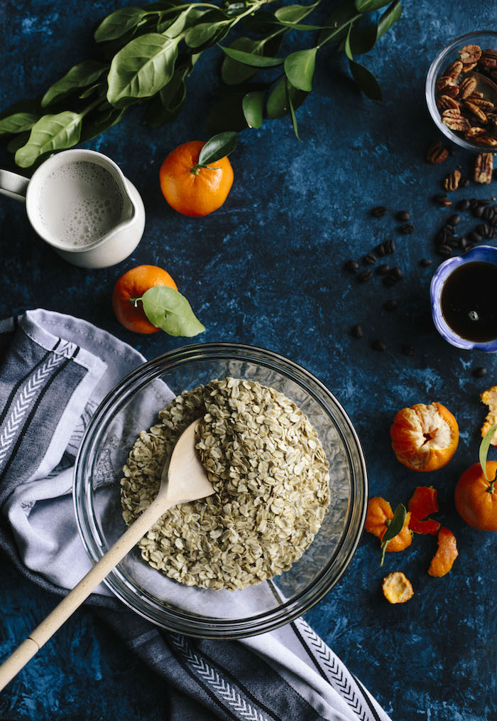 coffee orange granola | thealmondeater.com