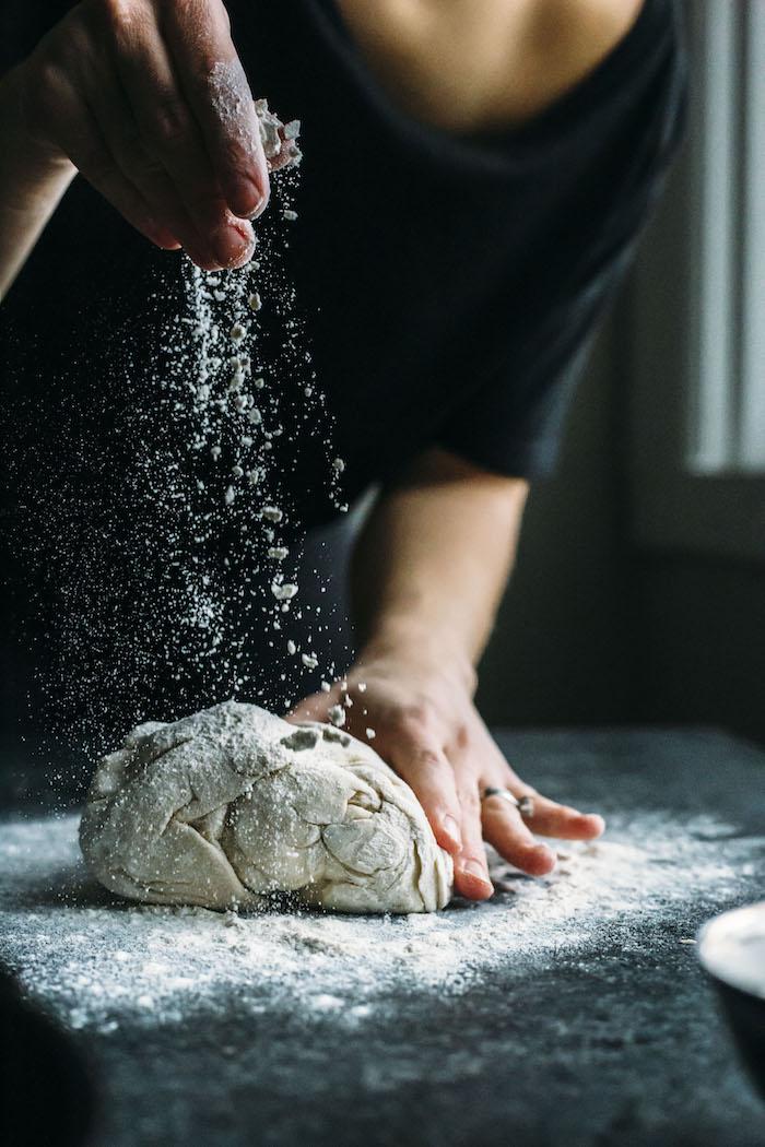 pizza dough   thealmondeater.com