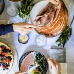 Easter dinner | tablescape