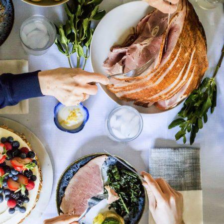 Easter dinner | tablescape