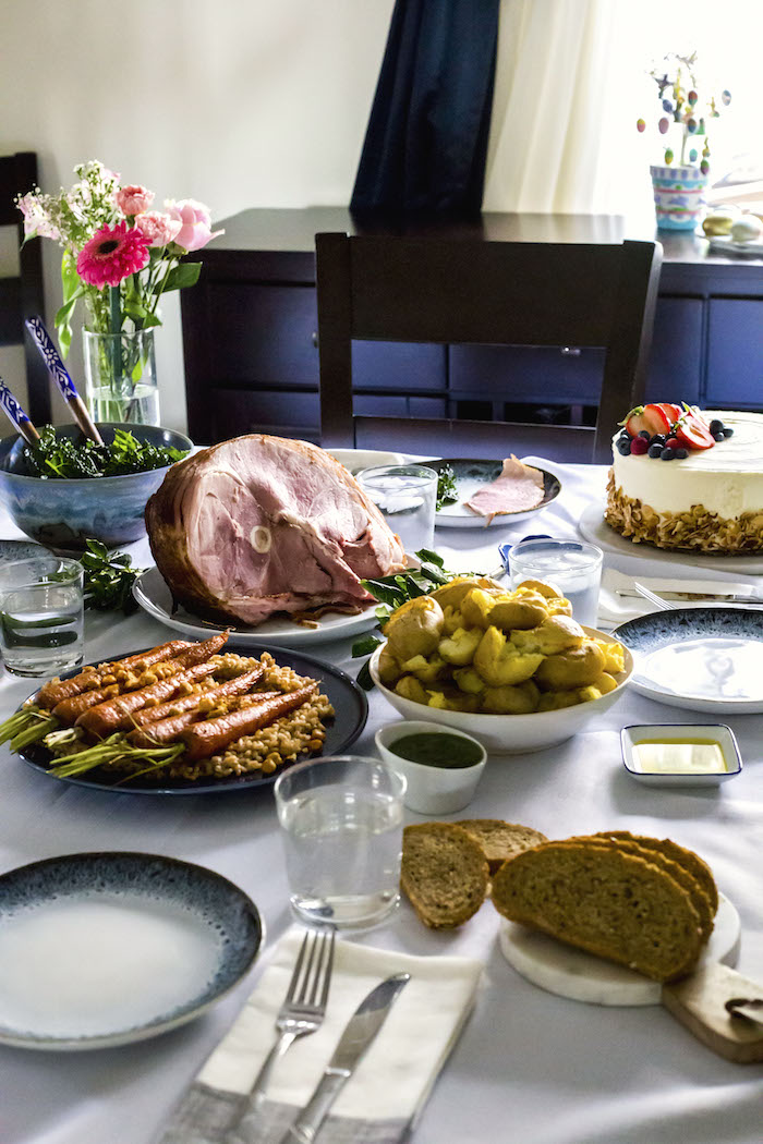 Easter Feast | thealmondeater.com