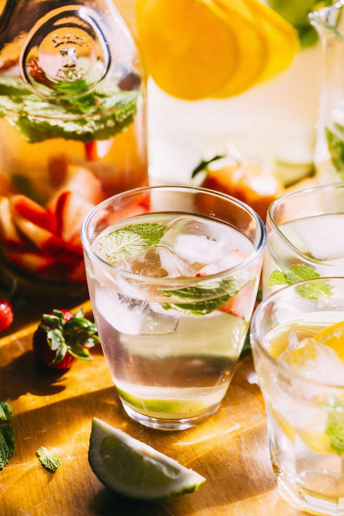 Mojito Water | thealmondeater.com