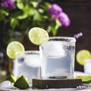 lavender margarita   a light and refreshing boozy drink!