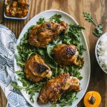 Apricot Glazed Turkey | thealmondeater.com