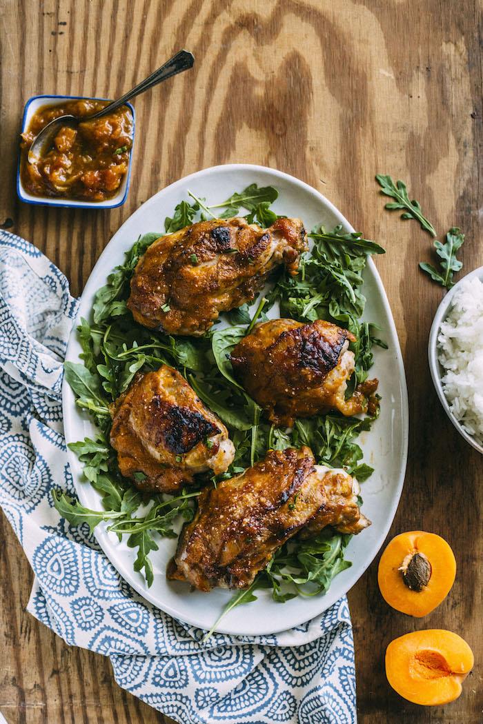 Apricot Glazed Turkey | thealmondeater.com