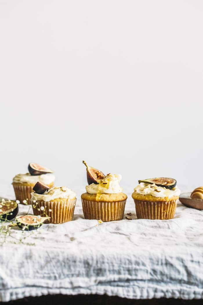 VEGAN Almond Cupcakes with TWO icing options: 1 dairy free and one not--you pick whichever works for you, but both options are delicious!