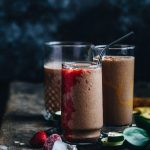 Zucchini Cacao Smoothie [paleo, vegan] | thealmondeater.com