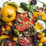 Heirloom Tomato Breakfast | thealmondeater.com