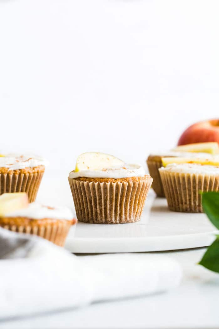 Gluten Free Apple Cupcakes   thealmondeater.com