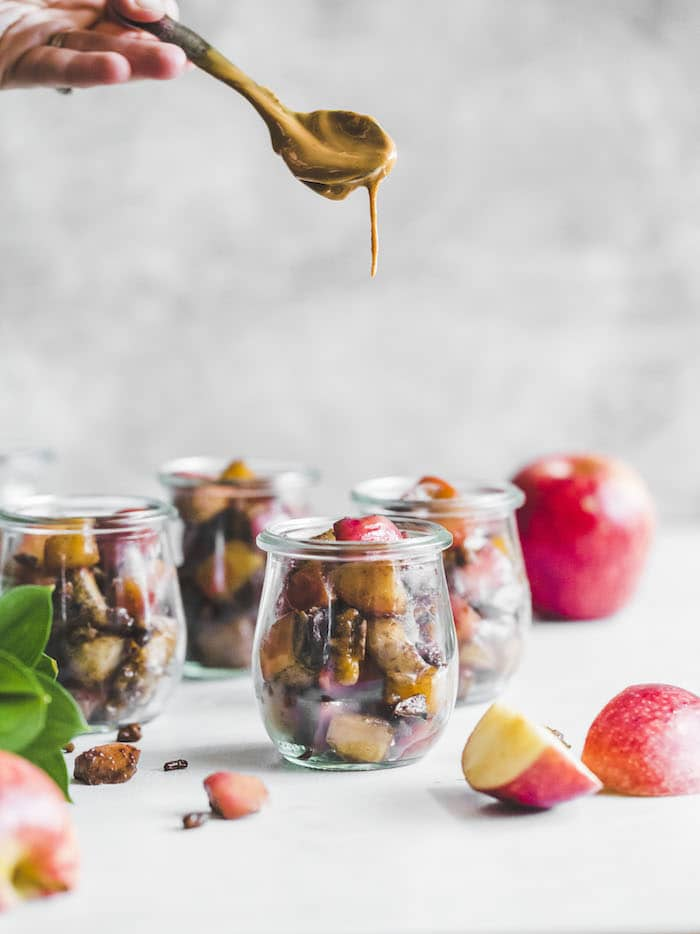 Whole30 Apple Parfait | thealmondeater.com