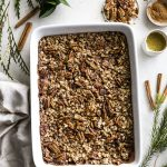 Pecan Pie Baked Oatmeal   thealmondeater.com