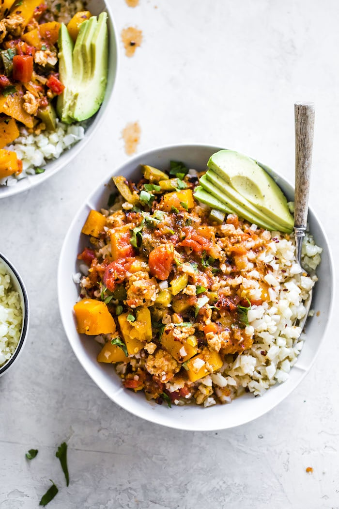 Butternut Squash Chili | #whole30 | thealmondeater.com