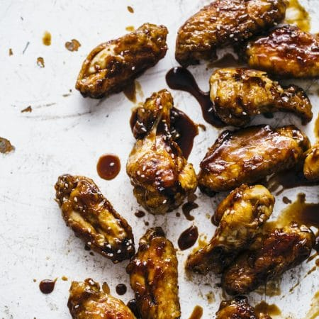 Paleo Baked Chicken Wings | thealmondeater.com