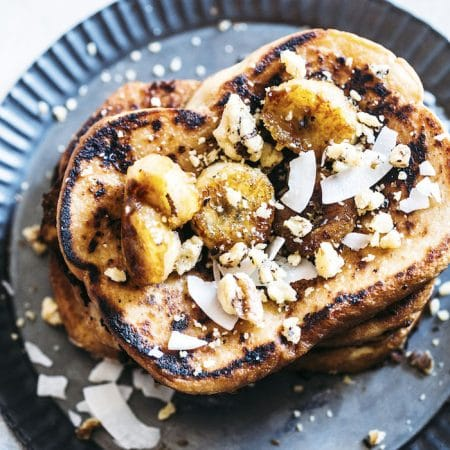 Vegan Coconut French Toast | thealmondeater.com