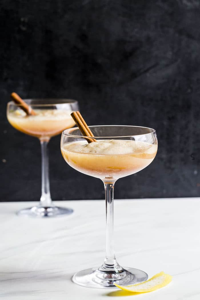 Cinnamon Tequila Sour | thealmondeater.com