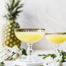 Pineapple Ginger Punch   thealmondeater.com