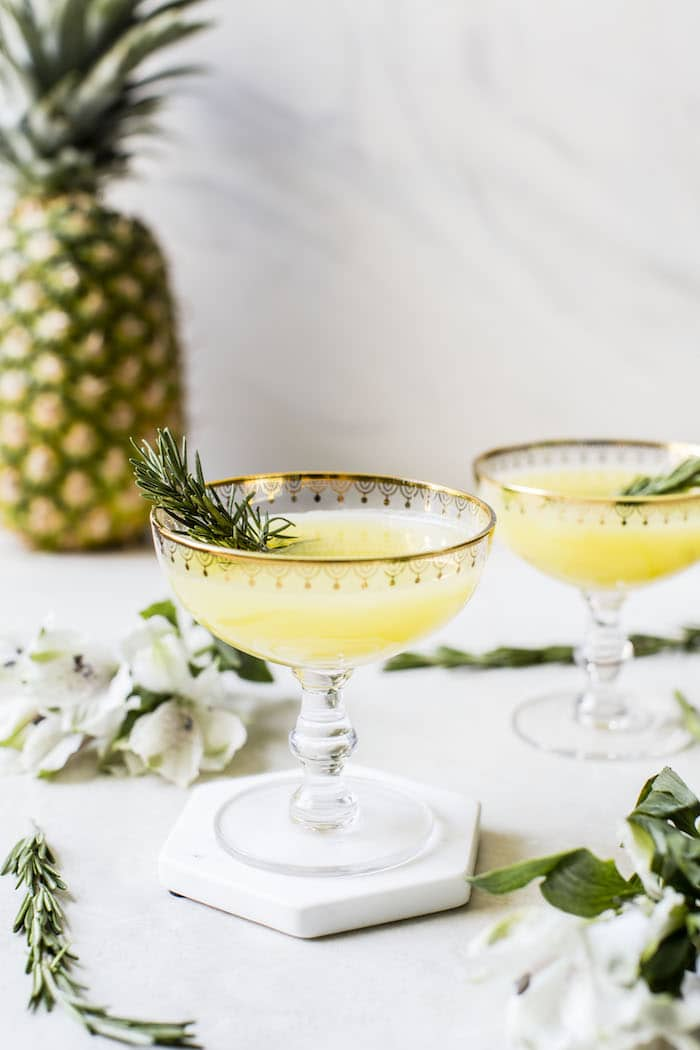 Pineapple Ginger Punch | thealmondeater.com
