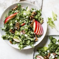 Candied Pecan Frisée Salad