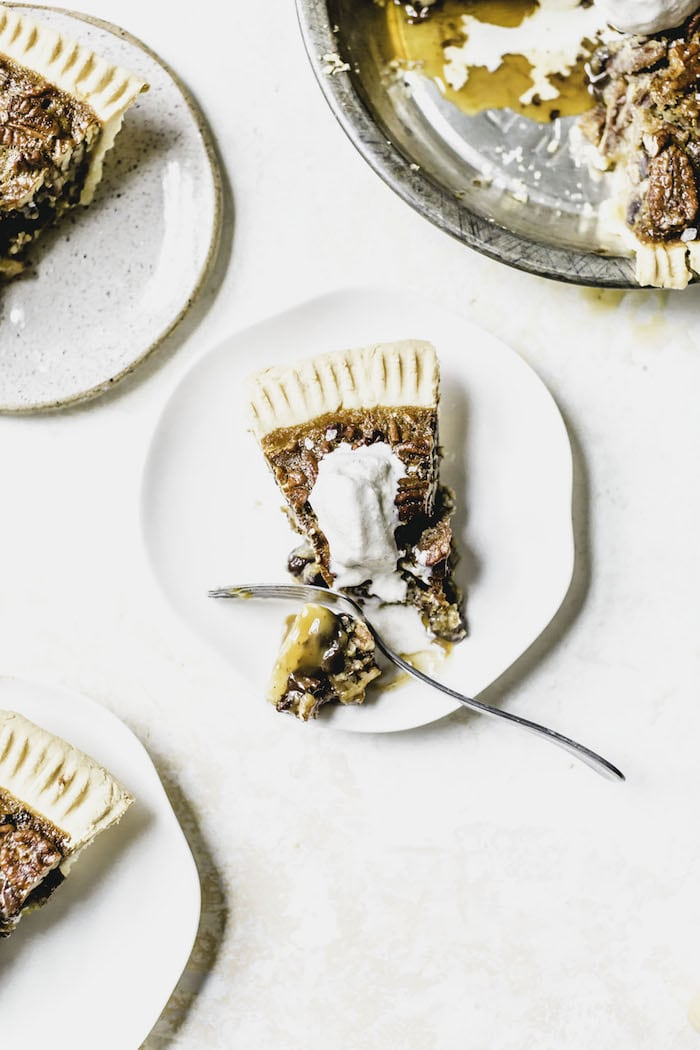 Chocolate Chip Pecan Pie   thealmondeater.com