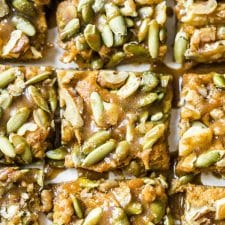 Paleo Sweet Potato Bars | thealmondeater.com