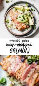 bacon-wrapped salmon