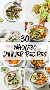whole30 dinners