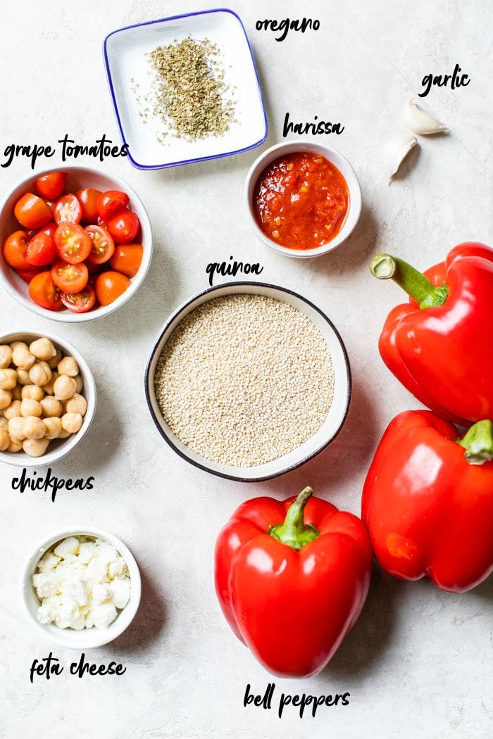 ingredients in bowls with text overlay