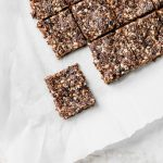 Healthy Fig Bars--just 5 ingredients and a food processor and you're good to go!