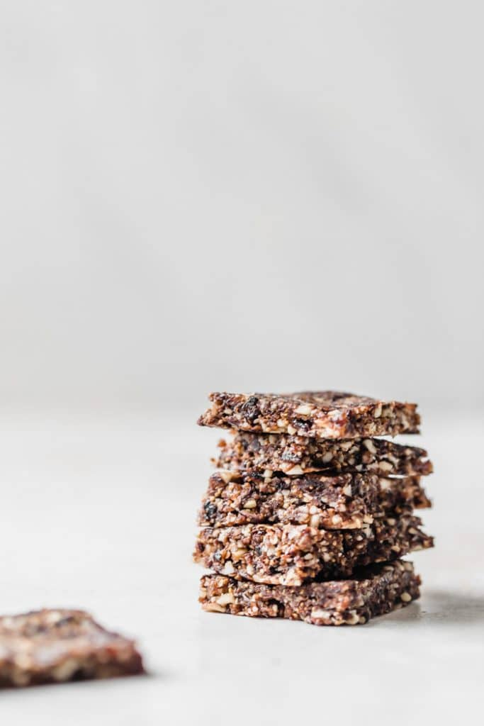 raw fig bars #vegan