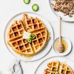 Cheddar Jalapeno Waffles