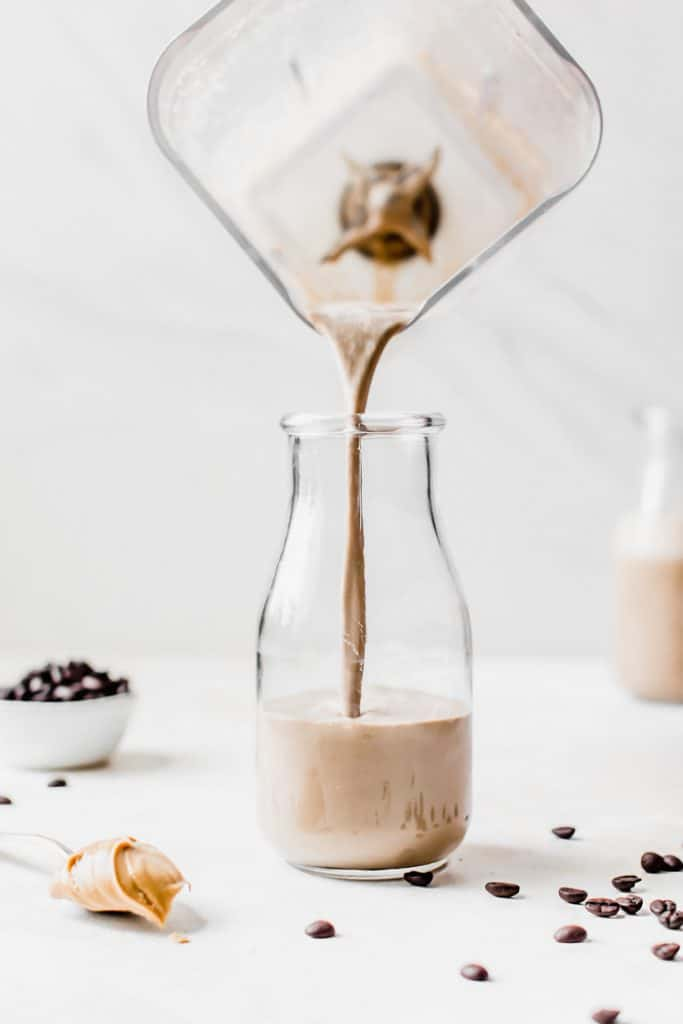 Delicious coffee smoothie made with #coldbrew coffee