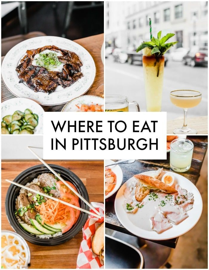 All of the BEST Pittsburgh restaurants+bars