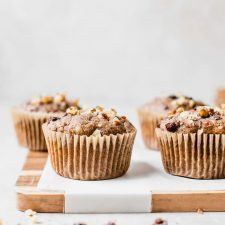 vegan morning glory muffins #vegan