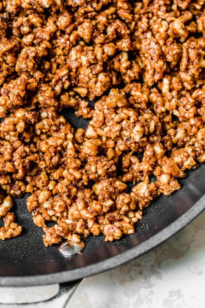 "How to make walnut taco ""meat"" #vegan"