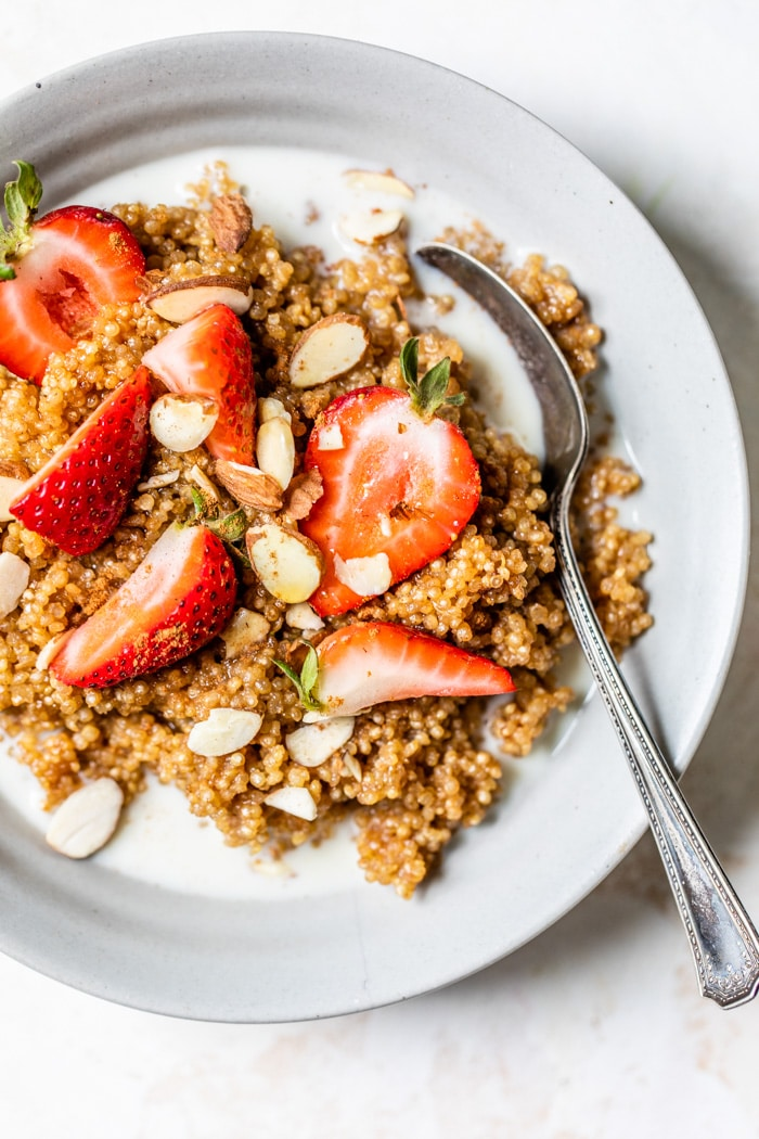quinoa breakfast