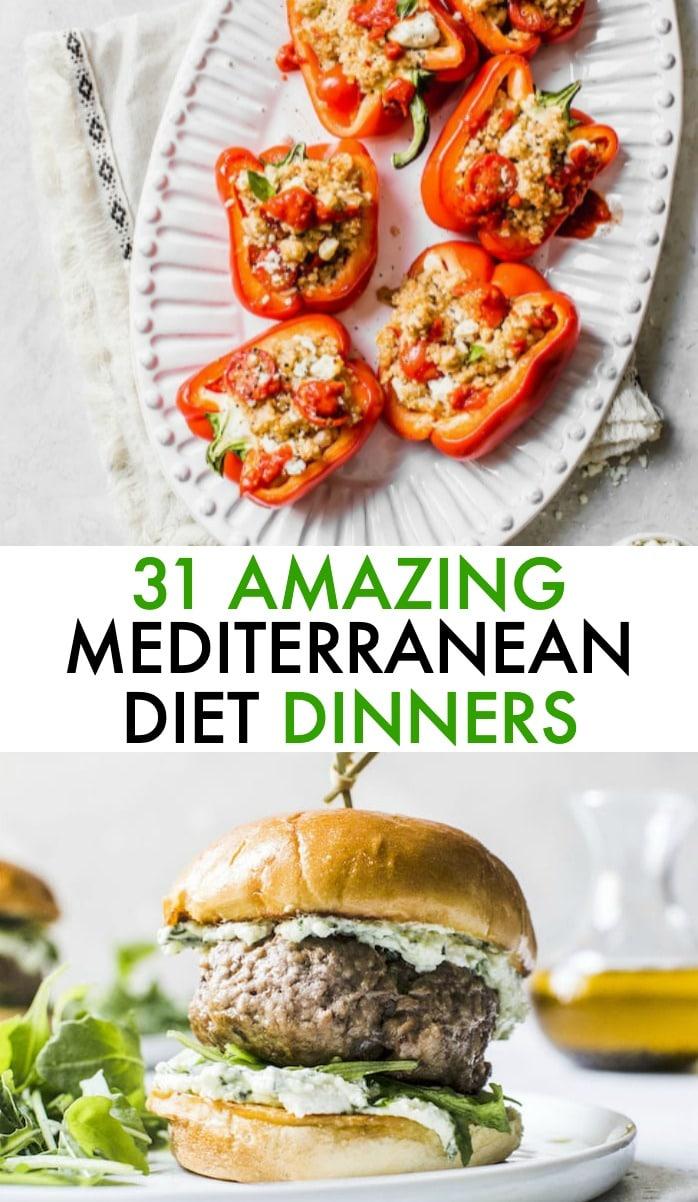 mediterranean diet dinners