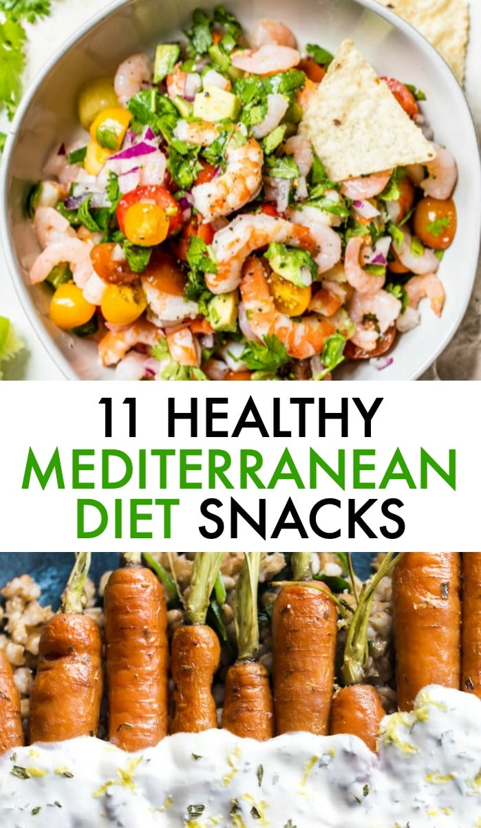 mediterranean diet snacks