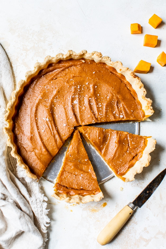 vegan sweet potato pie