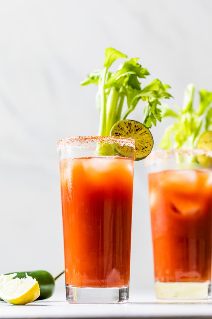 Skinny Bloody Mary The Almond Eater