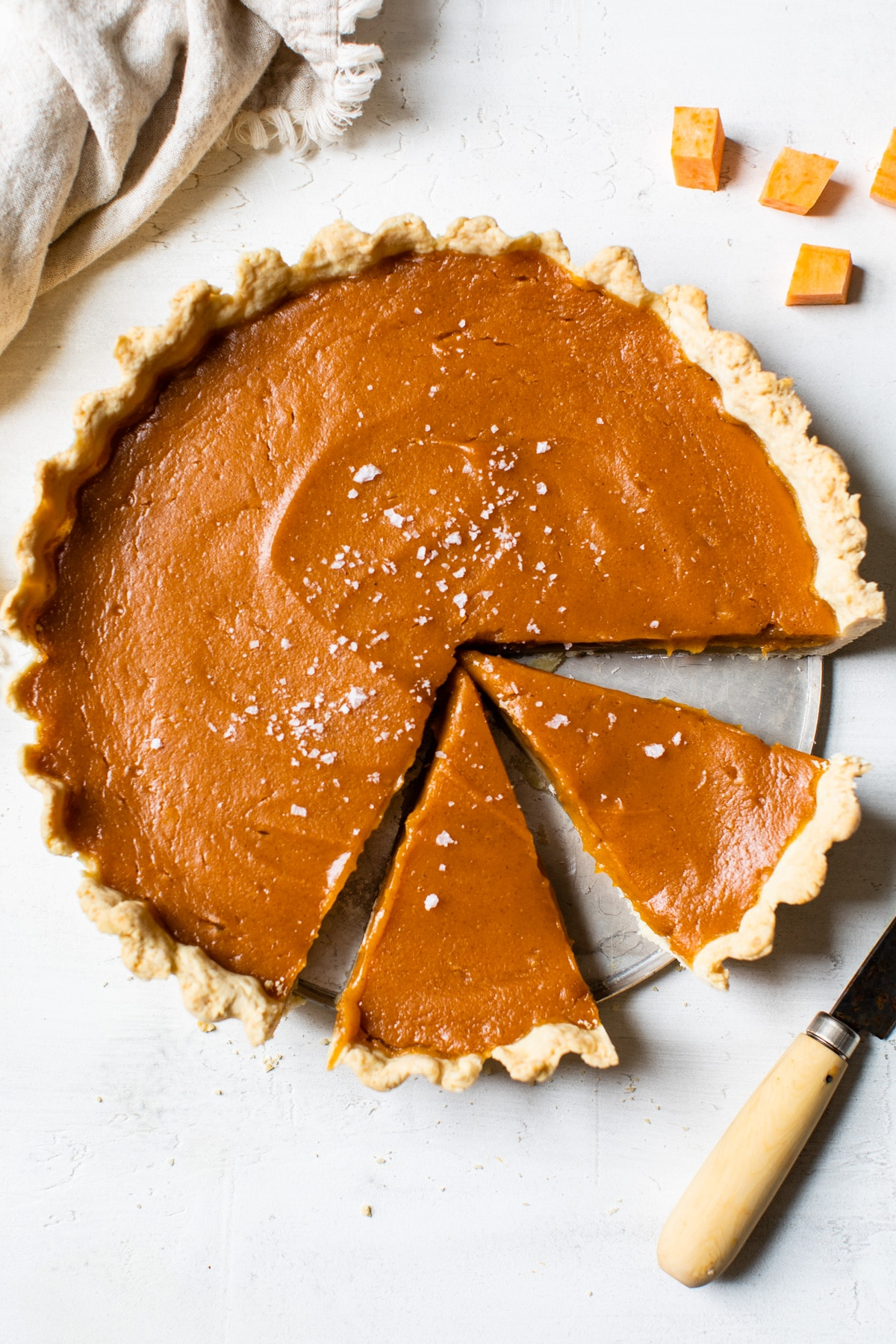 Vegan Sweet Potato Pie The Almond Eater