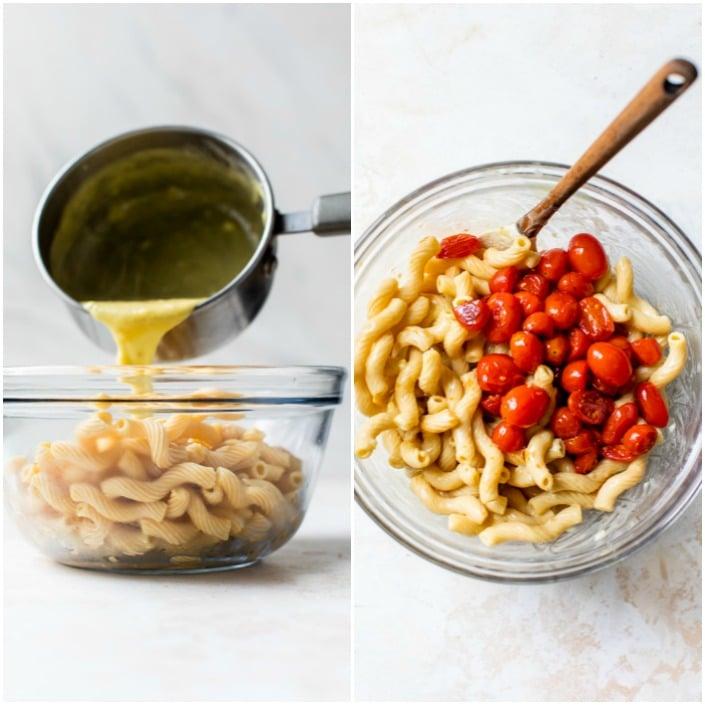 how to make vegan garlic pasta