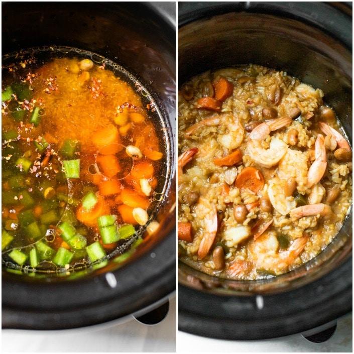 stir fry in the crockpot