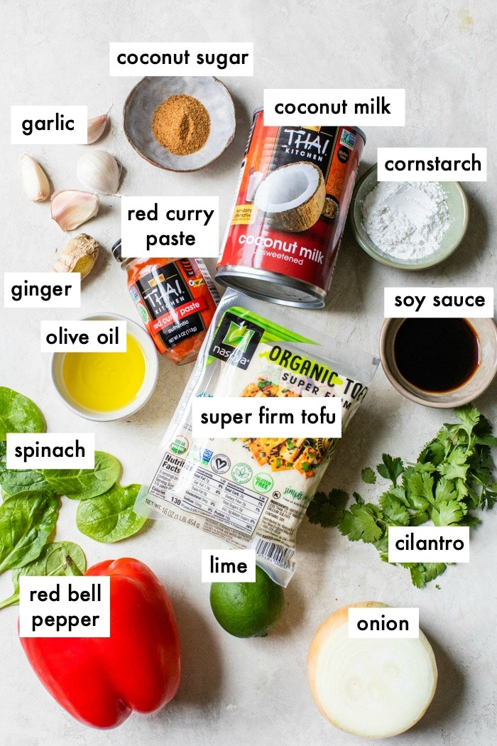 ingredients to make curry