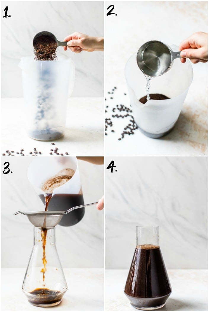 step-by-step how to make cold brew