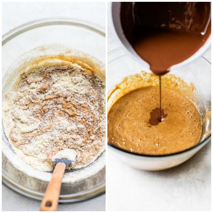 step by step how to make brownies