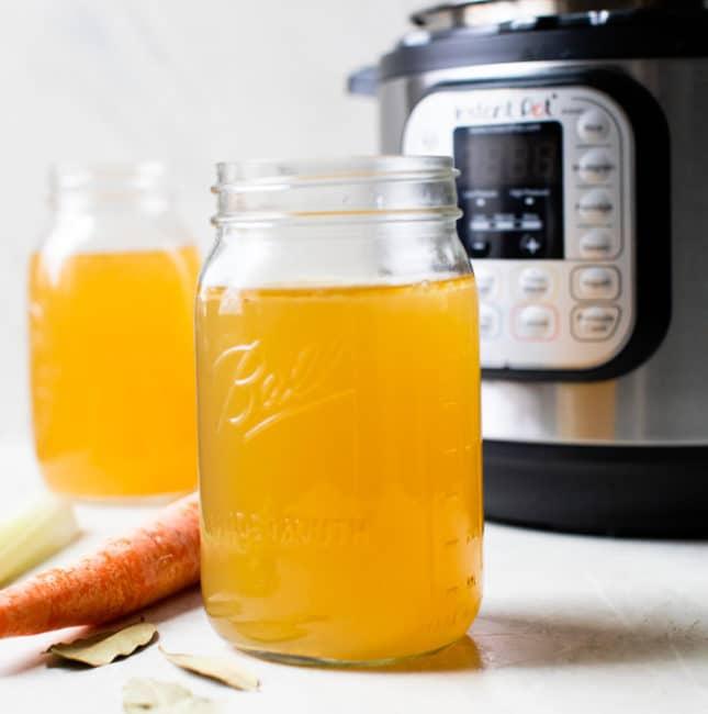 broth in a jar